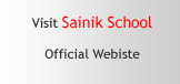 Visit Sainik School Official Website